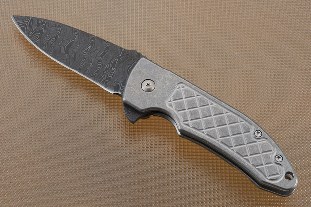 Guardian 3 Flipper (G3F-DAM) with Ripple Damascus