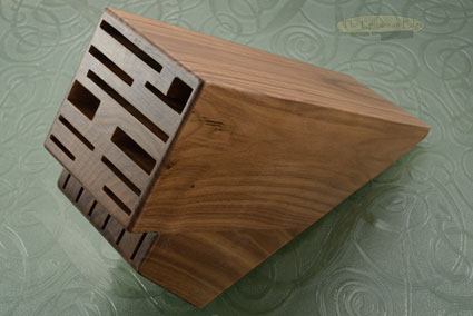 Knife Block, 16 Slot, Walnut (DKB-16/W)