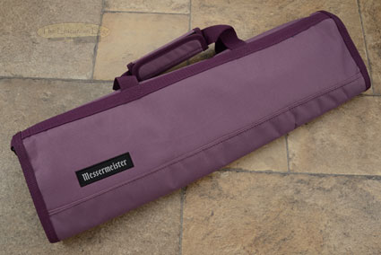 8 Pocket Knife Roll, Plum (2066-8/PL)