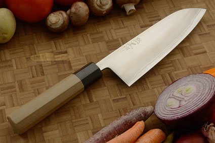Migaki Chef's Knife - Santoku, 165mm (6-1/2 in.)