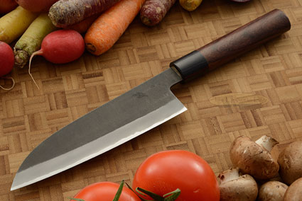 Chef's Knife (Santoku) - 6-1/2 in. (165mm) - Aogami Super