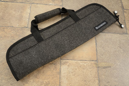5 Pocket Knife Roll, Charcoal Felt (1033-5/C)