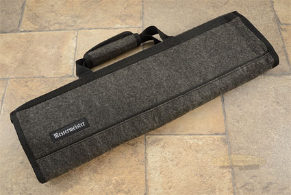 8 Pocket Knife Roll, Charcoal Felt (1033-8/C)