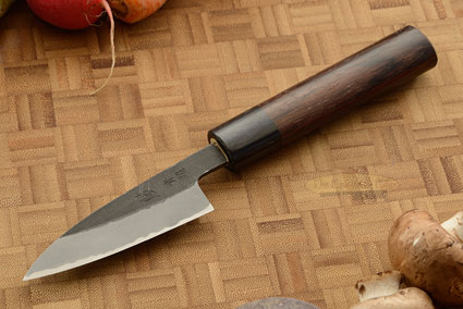Paring Knife (Petty) - 3-1/3 in. (85mm) - Aogami Super
