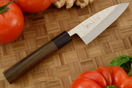 Tsuchime SLD (Stainless Steel) Petty Knife - Wide Petty - 4-1/4 in. (105mm)