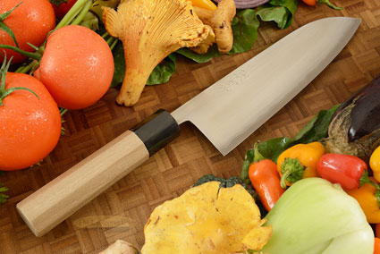 Migaki Chef's Knife - Santoku, 180mm (7-1/8 in.)