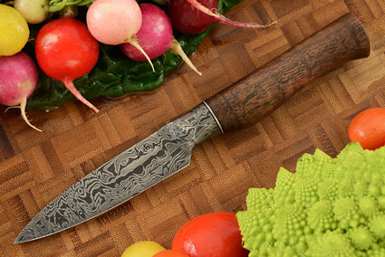 Integral Damascus Paring Knife (3-3/4