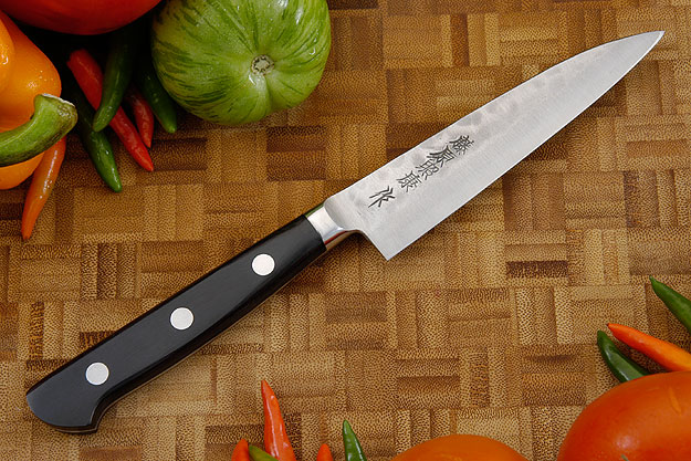 Maboroshi no Meito Utility Knife - Petty, Western - 120mm (4 3/4 in.) with Saya