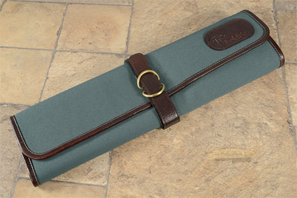 7 Slot Canvas Knife Roll - Abalone (CT102)