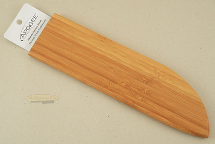 Magnetic Bamboo Saya (Sheath) for Chef's Knives (10 inches)