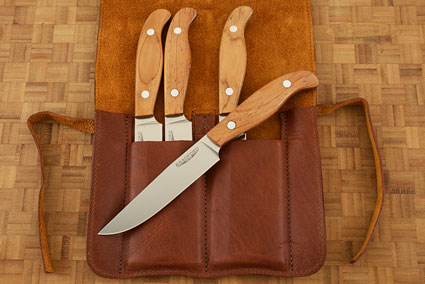 Gatsby Steak Knife with Santos Rosewood (Set of 4)