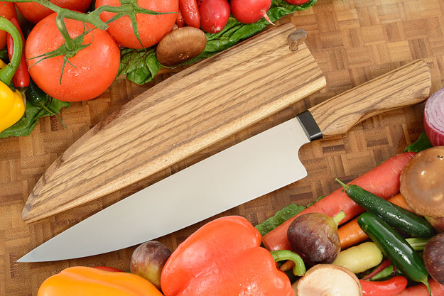 Chef Knife (9-1/4 in.) with Zebrawood
